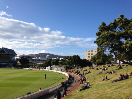 Summer at the Basin - no flyover in sight